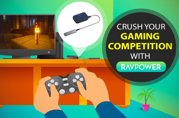 cover image for RAVPower blog -RAVPower' Best SSD, chargers, and filehubs for gaming