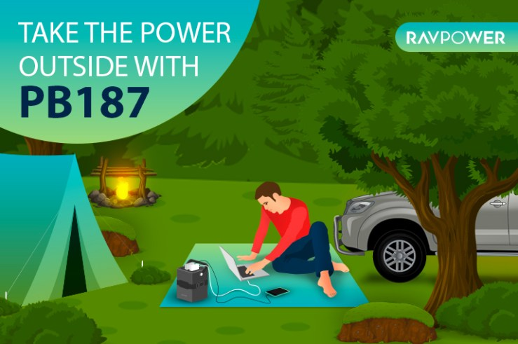 RAVPower PB187 power house
