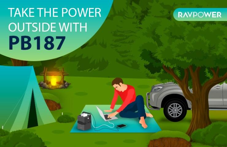 RAVPower PB187 power house