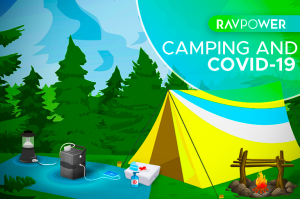 RAVPower blog cover - Camping and COVID-19