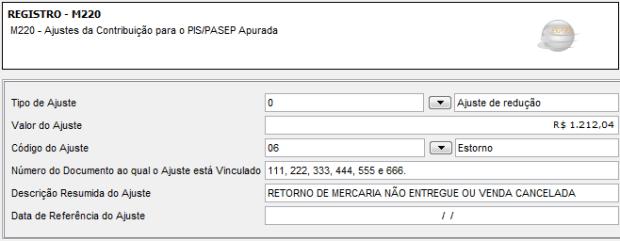 M220_Ajuste_PIS_Exemplo