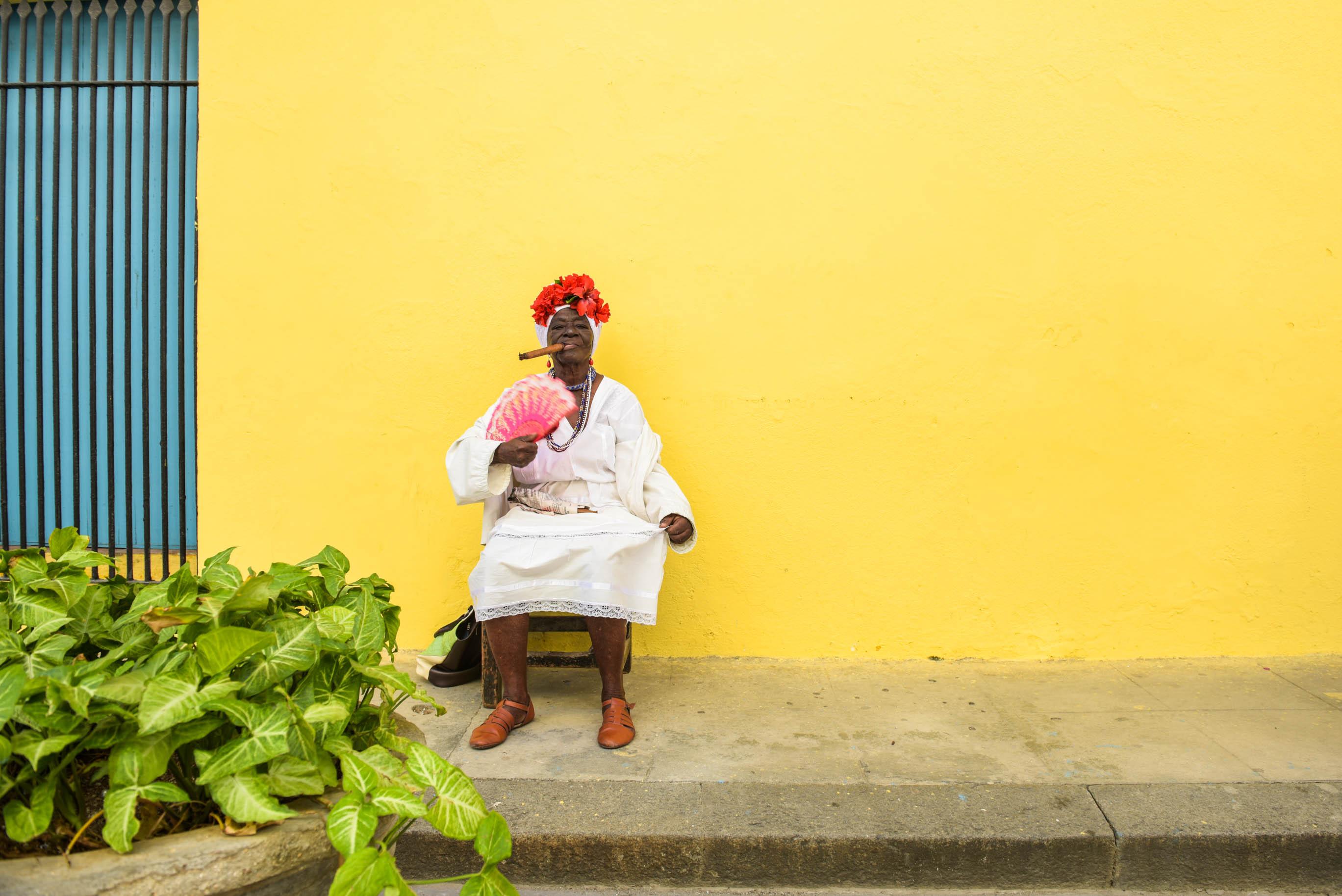 The Cuban Cigar Lady