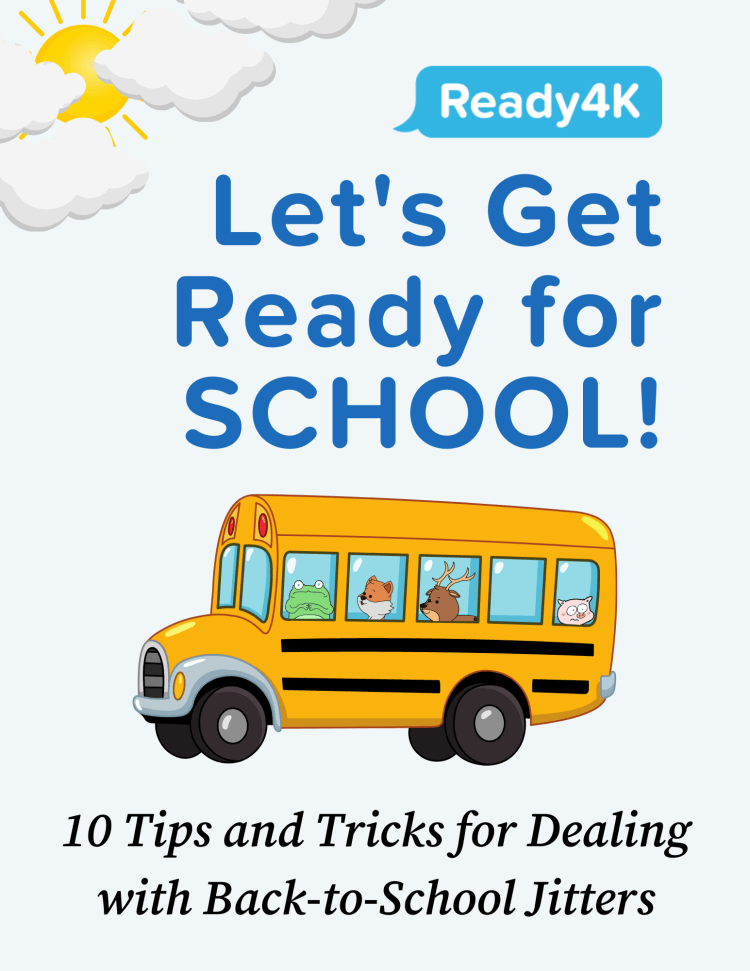 Downloadable resource for back to school readiness in English