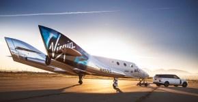 Tecnología profunda Virgin Galactic SpaceShipTwo VSS Unity