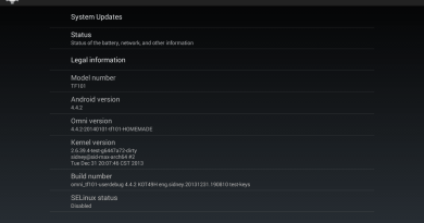 [ROM][TF101] Unofficial OmniROM 4.4.2[2014-01-16]