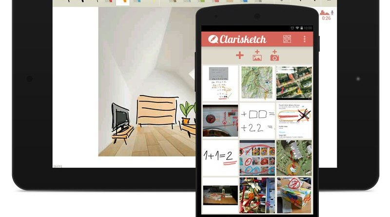 Clarisketch - Take a Picture, Talk, and Draw