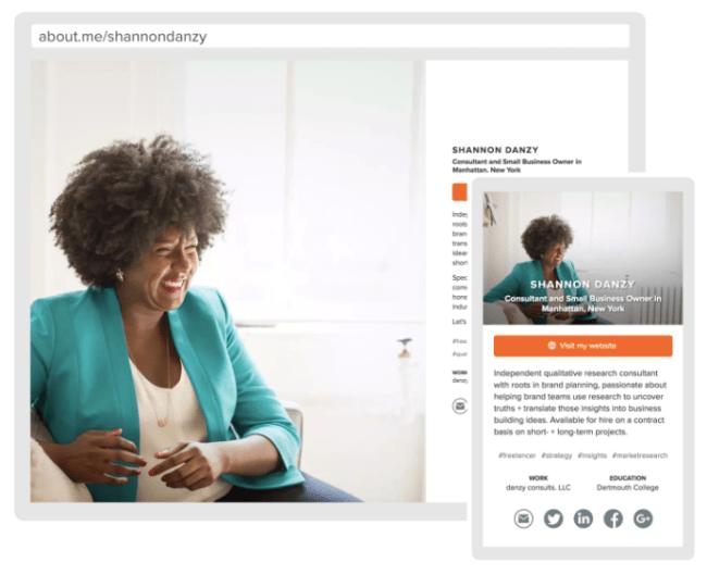 build online presence example