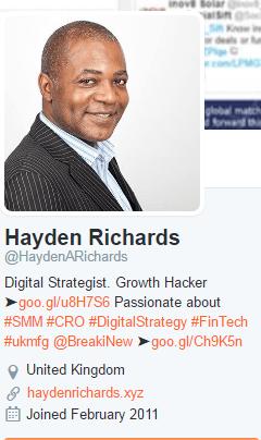 Politely Stalking Hayden Richards