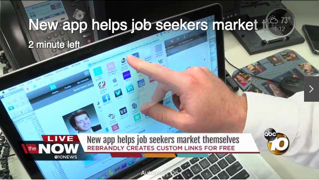Rebrandly Helps with Job Search