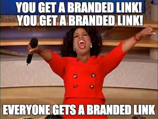 Branded Links for Teams