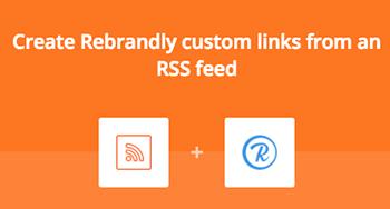 Custom RSS link