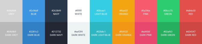 color palette for brand consistency
