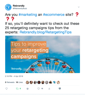 how to share links twitter