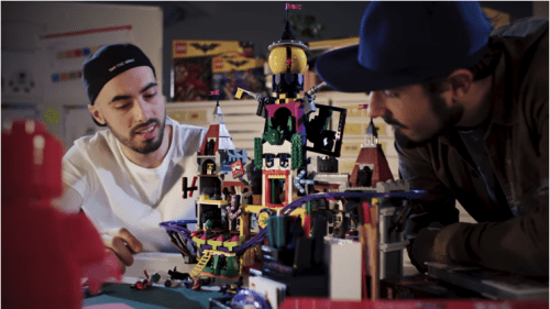 visual trends lego video shot