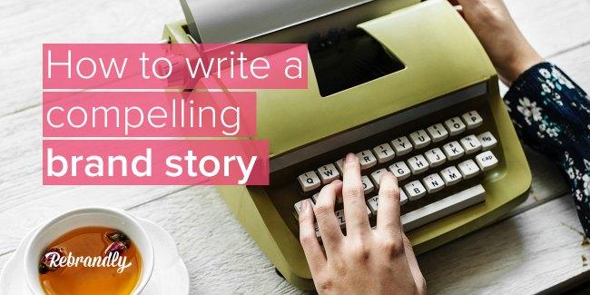 brand story blog banner