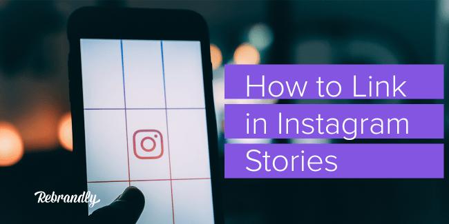 instagram stories linking
