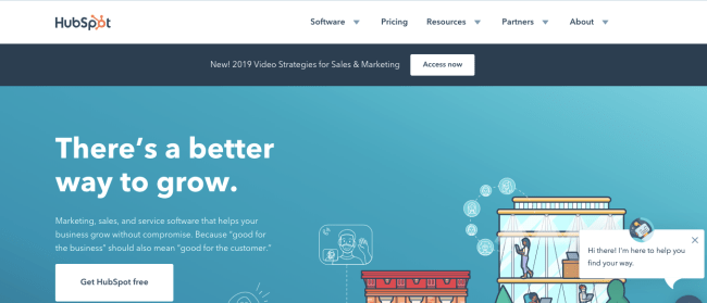 Hubspot - Productivity App 2019