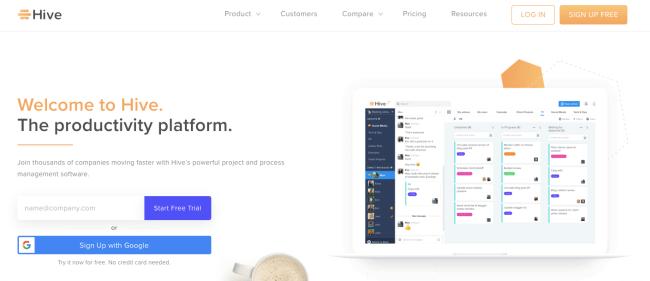 hive - Productivity App 2019
