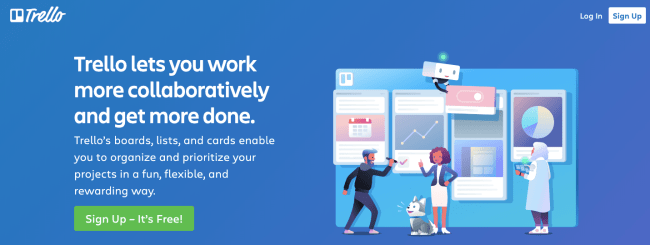 trello - Productivity App 2019