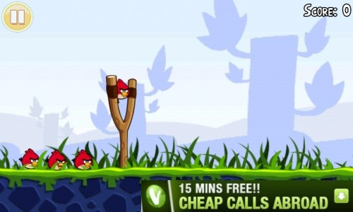 angry birds mobile marketing