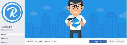rebrandly facebook