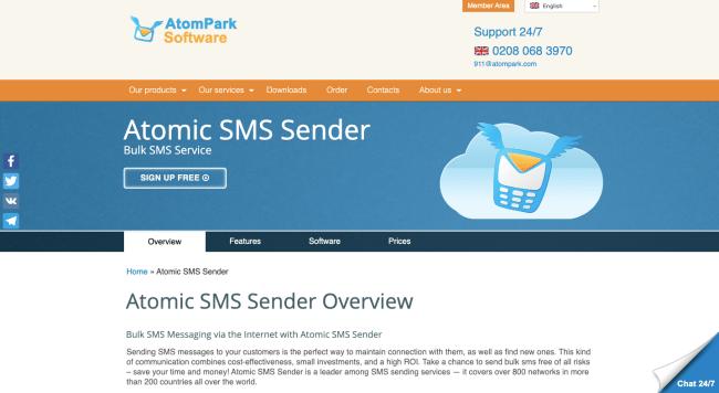 AtomPark Homepage