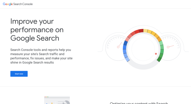 Google Search Console - best content marketing tools