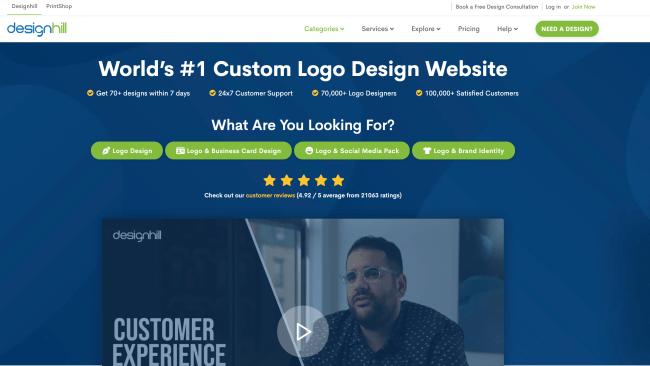 Best Online Logo Makers design hill