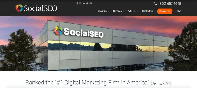 social seo best inbound agencies
