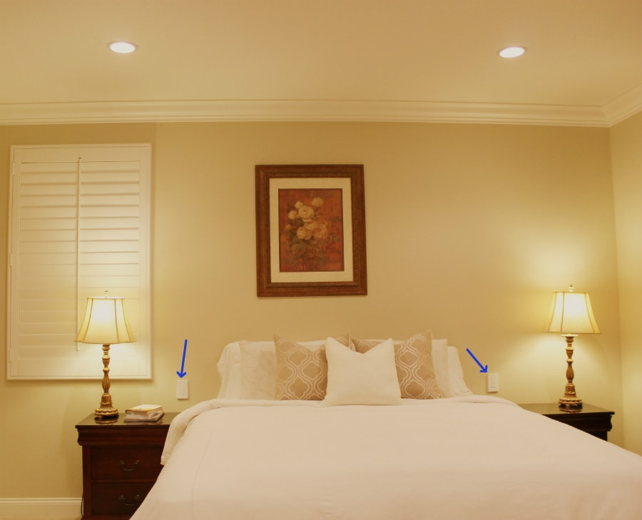 Wiring A Bedroom Diagram