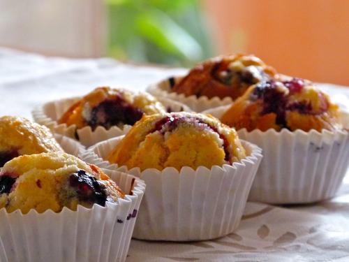 Muffings-de-arandanos