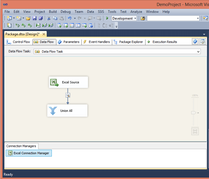 Skipping Excel subtotal rows in SSIS without using scripts