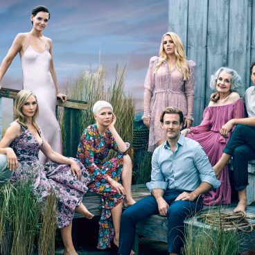 """90s Teen Series """"Dawson's Creek"""" cast reunion from Entertainment Weekly."""