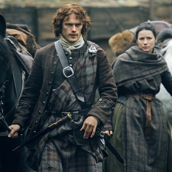 "Underrated tv series ""Outlander"" from Starz."