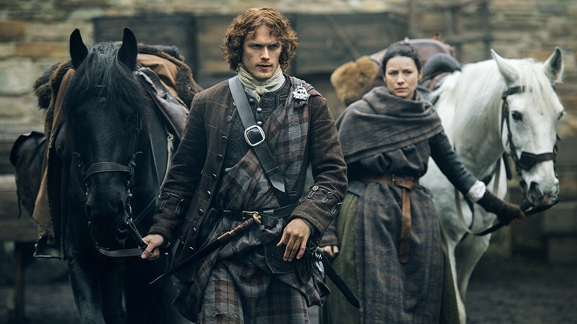 "TV series ""Outlander"" from Starz"