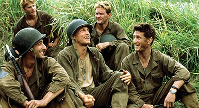 """""""The Thin Red Line"""" from 20th Century Fox."""