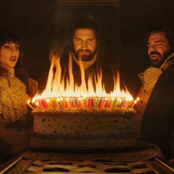 "Meet the vampires from FX's new ""What We Do In The Shadows."""