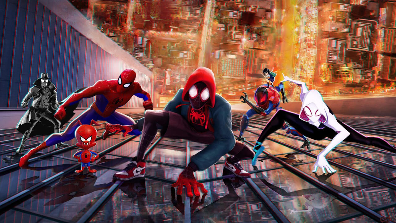 """Spider-Man: Into the Spider-Verse"" via Netflix"
