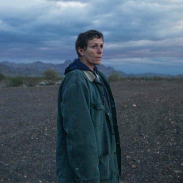 Nomadland starring Frances McDormand HD image poster