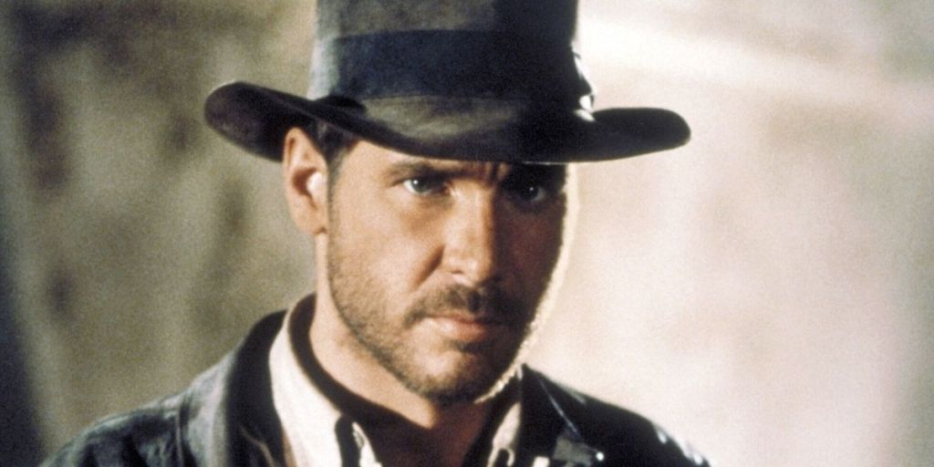 Harrison Ford as Indiana Jones in Raiders of the Lost Ark (1981)