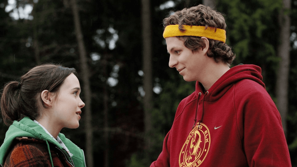 Michael Cera and Elliot Page in Juno