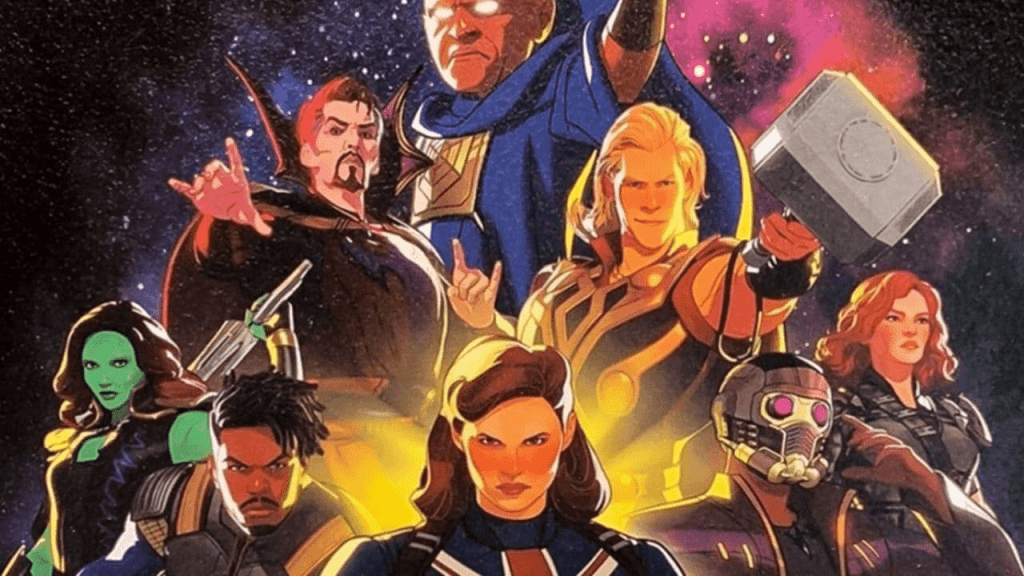 The cast of Marvel's What if...?