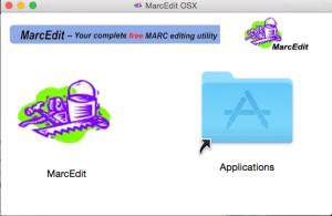 MarcEdit OSX installer