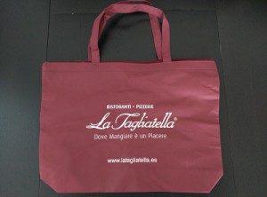 Bolsa de tela La Tagliatella
