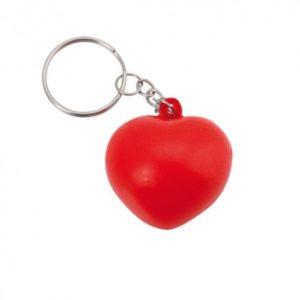 Llavero antiestrés corazón