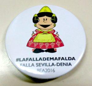 Chapa Falla Sevilla-Denia 2016