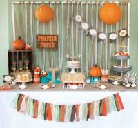 5 Fabulous Fall Baby Shower Themes
