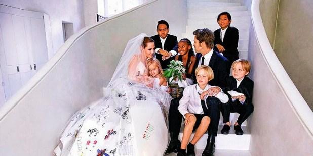 Casamento Angelina Jolie e Brad Pitt