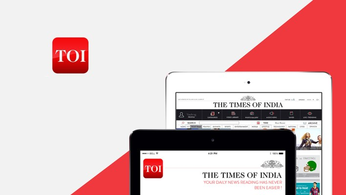 digital advertising on toi app now can be done in a few simple steps | releasemyad blog