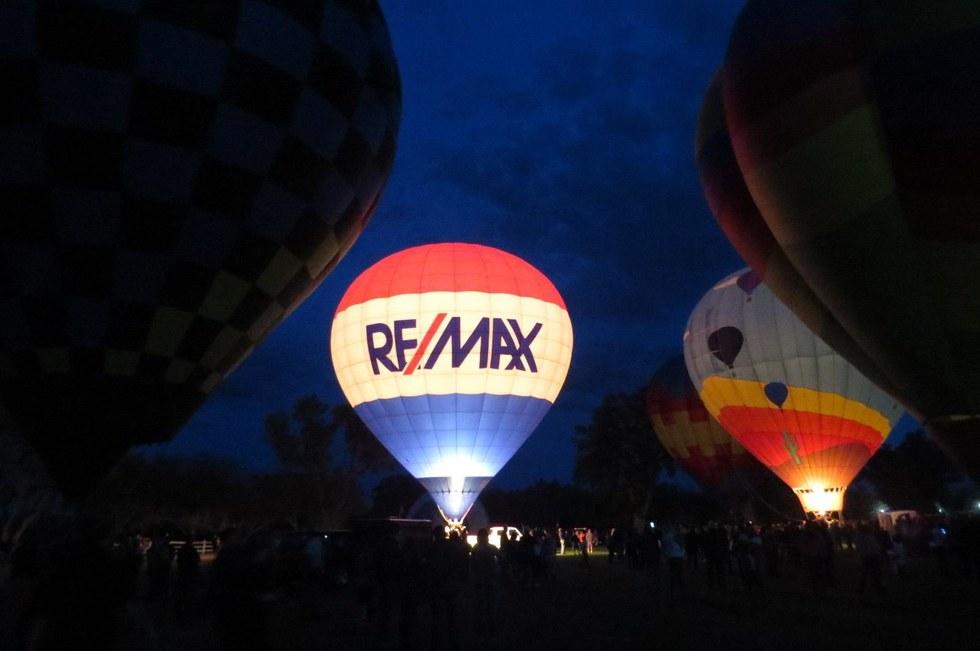 Hot Air Balloon Glow Festival, Tucson, AZ